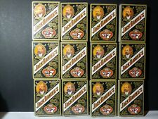 Jack Daniels playing cards 12 Sealed Packs ( New )