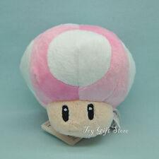 "Super Mario Bros Plush Doll Soft Figures MUSHROOM 4"""