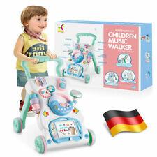 Musik Lauflernhilfe Lauflernwagen Gehfrei laufen lernen Baby Walker  SpielzeugDE