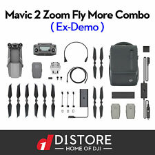 OFFICIAL DJI Mavic 2 Zoom Drone & Fly More Combo Kit Ex Demo With Tax Invoice