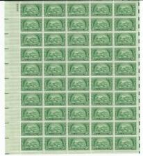 US SCOTT 987 PANE OF 50 AMERICAN BANKERS ASSOCIATION 3 CENT FACE MNH