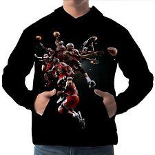Michael Jordan Herren Kapuzenpullover Hoodie Hoody Sweater wa15 aam20001