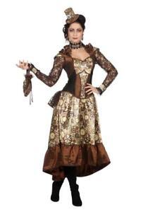 Burlesque Barock Rokoko Steampunk Gräfin Baronin Marquisin Kostüm Kleid König