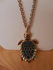 Lucky Brand  Oversized Turtle Necklace MSRP $49