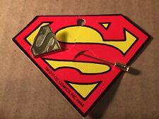 SUPERMAN  Vintage  Tie Stick   Lapel Hat  Pin .