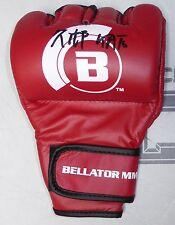 Hisaki Kato Signed Official Bellator MMA Fight Glove BAS Beckett COA Autograph 2