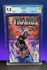 Thanos #15 CGC 9.8 4th Fourth Print Variant Silver Surfer Black