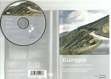 ORIGINALE AUDI RNS-E 2004-2009 Disco di navigazione DVD NAVIGATORE SATELLITARE MAPPA 2016 Regno Unito BEL fra SP