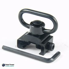 Heavy Duty Quick Detach Sling Mount & Swivel with Release Button for 20mm Mount
