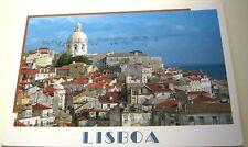 Portugal LisboaVista Panoramica sobre alfama e cupula do Panteao Nacional - post