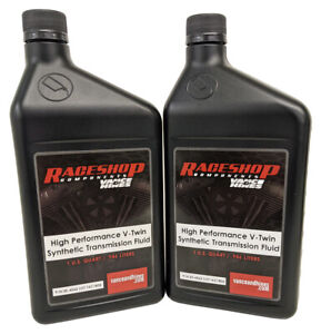 For Harley Davidson 86-00 FLST FXST Softail 2Quart V-Twin Syn Transmission Fluid