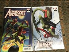 The Avengers #'s 16, 17 (9.6-9.8)