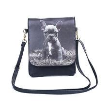French Bulldog Pup Dog Slim Cross body Flap Bag