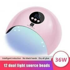 DE 36W LED Lichthärtungsgerät UV-Lampe Nagel Trockner Maniküre Salon Gel Dryer