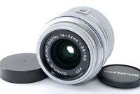 "Olympus M.Zuiko Digital 14-42mm f/3.5-5.6 II R MSC Lens Silver ""Exc+"" #20179"