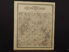 Minnesota  Otter Tail County Map Leaf Mountain Township   1912  K12#58
