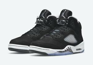 2021 Nike Air Jordan 5 Retro Moonlight Oreo CT4838-011 | SZ 10M-13M | Ships Free