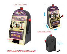 SALVADANAIO SLOT MACHINE MONEY SOLDI JACKPOT CASINò SOLDI CONSERVA SALVADANAIO