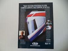 advertising Pubblicità 1990 CASCO HELMET ARAI GIGA