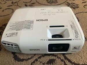EPSON EB-X27 LCD PROJECTOR, VGA, HDMI, COMPOSITE, 60 inch screen