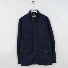 Mens Timberland Cordura M65 Field Utility Jacket in Navy Blue Size S | Vintage