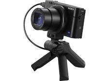 Cámara- Sony DSC-RX100M3G, 20.1 MP,Zoom 24-70 mm,Sensor CMOS 1.0, F1.8-2.8,Negro