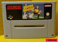 SUPER SOCCER - Super Nintendo Spiel / gebraucht, Funktion getestet