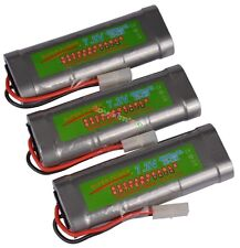 Pack x3 ♣ 7.2V 4600mAh Accu Battery Rechargeable TAMIYA RC ♣ SUPER POWER ♣ HOT