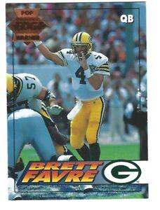 1994 Collectors Edge Pop Warner BRETT FAVRE Card 71 Packers #'d 019513