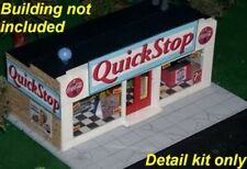 Super-Detail Kit for S Scale Convenience Store (1/64) NEW GRAPHICS