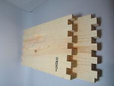 DEEP,BROOD wood BEE box, commercial grade, indent handles, UNASSEMBLED wbx9-c