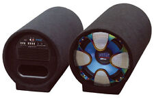 New Pyle PLTAB8 8'' 250 Watt Amplified Subwoofer Tube Sub Car Audio