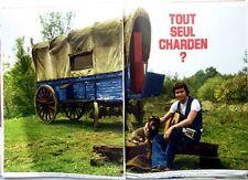 ERIC CHARDEN => coupure de presse rare 8 pages 1974 / CLIPPING