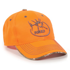 RMEF Rocky Mountain Elk Foundation Blaze/Realtree Edge Hunting Hat