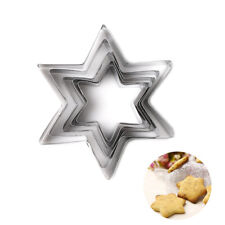 5PCS/Lot Star Stainless Steel Cookie Biscuit Cake Paste Mold Cutter Decor Tool