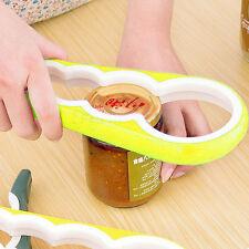 Kawachi Multi-Purpose 4 in 1 Bottle Jar Cork Lid Cap Twist Opener Gripped K298