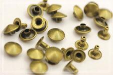 200pz Borchie a cono con rivetto color  bronzo 1CM * Cone studs loose rivet