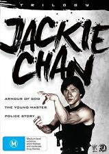 Jackie Chan Trilogy (DVD, 2013, 3-Disc Set) Brand New  Region 4
