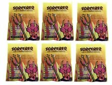 6 x Sorcerer Flue and Chimney Cleaner 90g Reduces Corrosion Improves Combustion