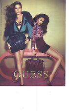 PUBLICITE 2012   GUESS haute couture sacs chaussures