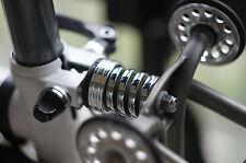 sobybike chrome suspension block for brompton bike bicycle