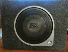 MTX BOXED SUB WOOFER GOOD BASS BOOST TO YOUR CAR SPEAKER