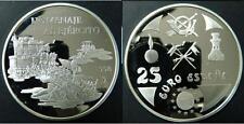 "ESPAÑA: 25 euro 1998 proof ""cincuentin"" HOMENAJE AL EJERCITO ESPAÑOL"