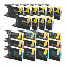 22 PACK LC71 LC75 Ink Cartridge for Brother MFC-J5910DW MFC-J625DW MFC-J6510DW