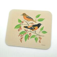 "Baltimore Oriole Bird Mouse Pad - measures 9"" x 7.5"""