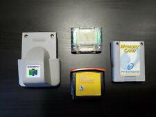 Interact RAM Expander Expansion Pak, Rumble Pak, 2x Memory Card Nintendo 64 N64