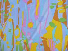 1m x 150cm  Poly COTTON  KNIT LYCRA  Aust Print Fabric, Shirts Dress.Swimmers