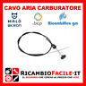 CAVO FILO ARIA CARBURATORE PER FIAT 127 128 A112 MARBELLA 7609324 7666325 NUOVO