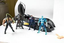 RARE Batman Batmobile and Batman, Robin, Mr Freeze, Bane From batman and robin
