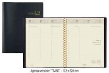 Brepols Timing S Agenda Semainier Civil 2019 c:Noir Format :17,2x22cm NEUF